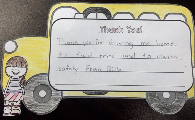 School Bus Driver Week Image